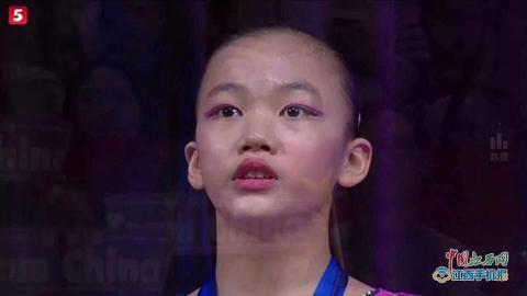 澳门金沙城娱乐开户:石城女孩陈一乐代表中国勇夺世界冠军(图)