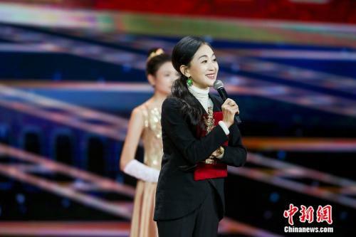 陈瑾获第17届华表奖优秀女演员。来源:主办方供图