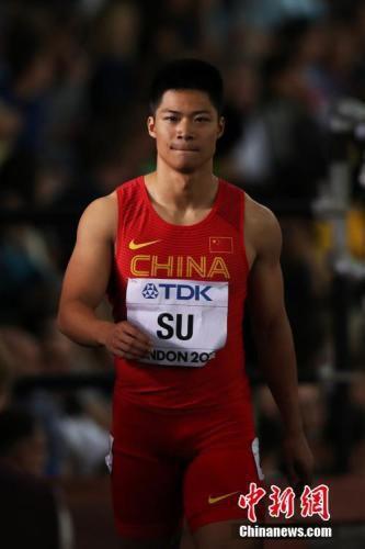 苏炳添已是世界短跑超级巨星。 <a target='_blank' href='http://www.chinanews.com/'>中新社</a>记者 韩海丹摄