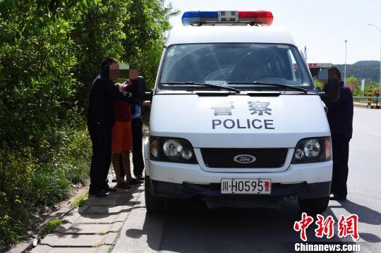 贩运毒品约20公斤的嫌疑人王某礼被四川广元警方抓获归案。 苗志勇 摄