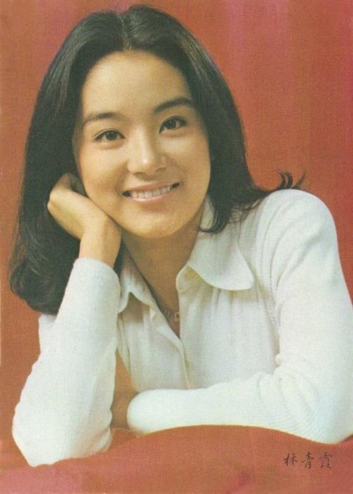 林青霞年轻时候照片。