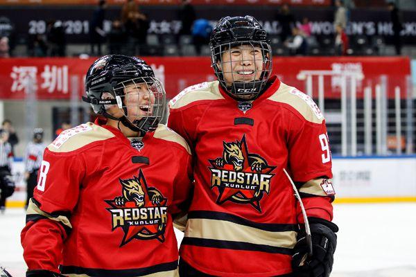 金沙会线上娱乐:CWHL赛程过半?中国女冰表现抢眼未来可期