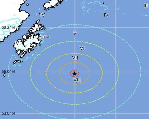 皇家彩票网官方网站:美国阿拉斯加湾强震引关注_地球处在大震活跃期?