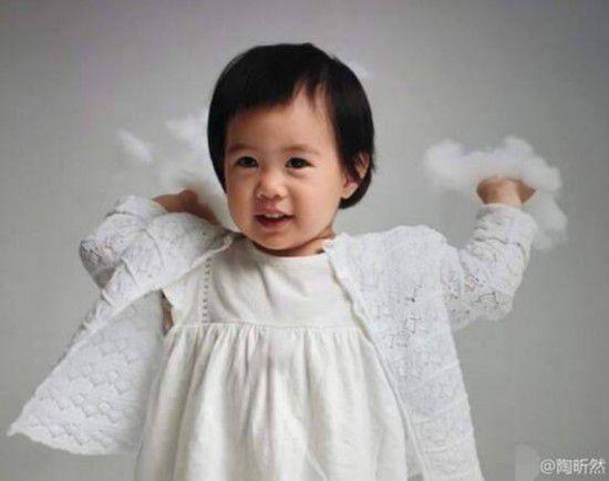 北京赛车历史记录统计:陶昕然女儿正面照曝光?吃蛋糕萌到爆