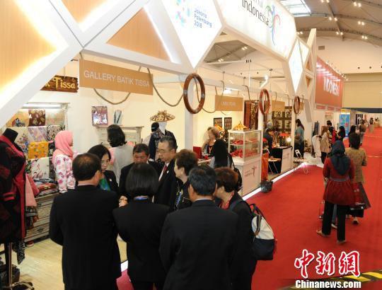 侨交会2017年度海外展现场(资料图) 乔志 摄