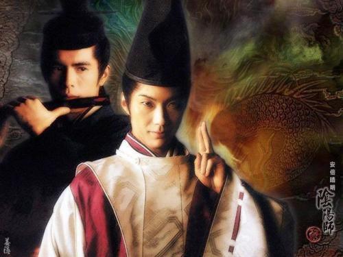 2001年上映的日本电影《阴阳师》海报。