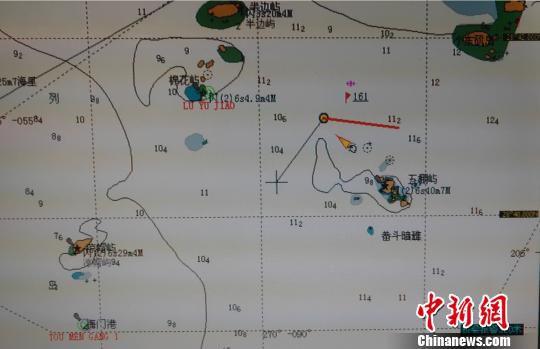 图为事发海域。台州海事局供图