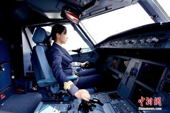 资料图:飞行员。 徐宁 摄