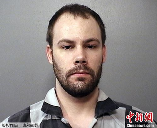 资料图片:涉嫌绑架杀害中国访问学者章莹颖的嫌犯克里斯滕森。