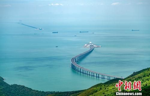 资料图:港珠澳大桥。<a target='_blank' href='http://www.chinanews.com/'>中新社</a>记者 张炜 摄