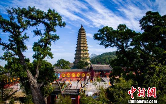 广胜寺景区,位于洪洞县城东北16公里霍山南麓,创建于东汉建和元年(公元147年)。洪洞县委宣传部供图
