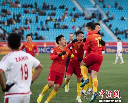 资料图:中国队参加U23亚洲杯 杨杰 摄