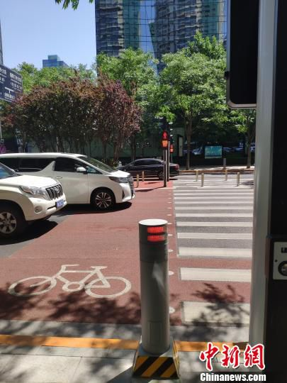 北京CBD打造智慧交通。北京市朝阳区供图