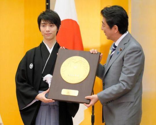 幸运飞艇晚上几点封盘?:再获大奖!羽生结弦成为日本国民荣誉奖最年轻个人得主