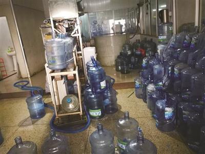 北京快乐8有什么规律:纯净水厂家生产条件不达标_还是农夫山泉的代销点