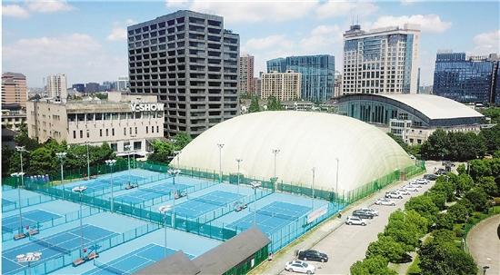 怎样买彩票才能中大奖是最实用的的一种方法:气膜体育馆亮相杭州黄龙体育中心
