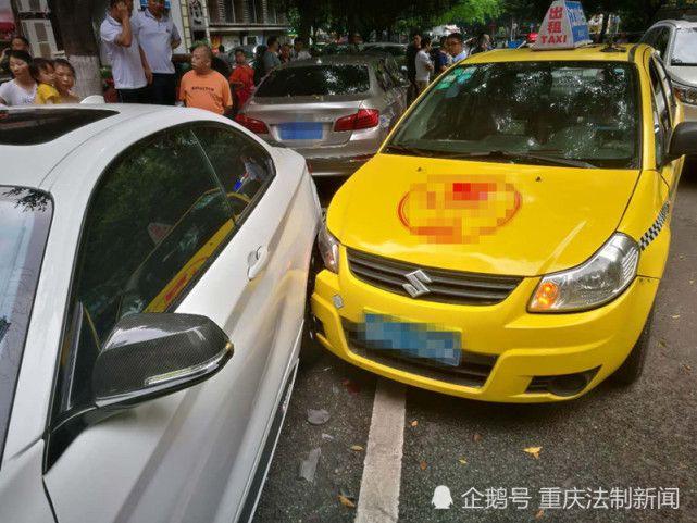 金沙国际娱乐官网:的哥驾车打瞌睡_10秒连撞三豪车:一林肯俩宝马
