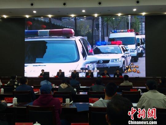 """近年来,山西全省法院多措并举破解""""执行难""""问题。 刘小红 摄"""