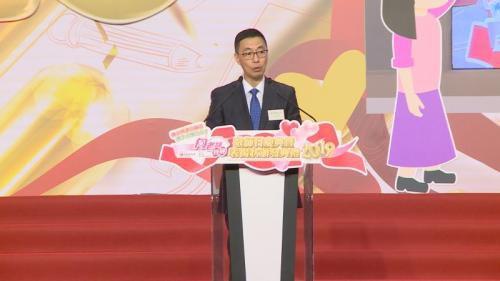 香港教育局长杨润雄。图片来源:香港特区政府新闻网