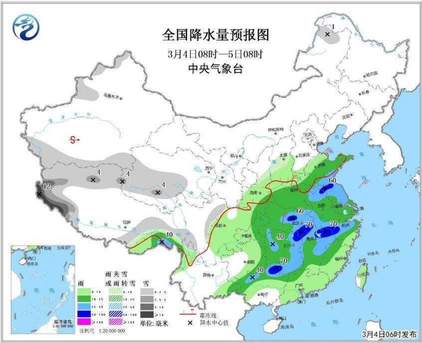 PK10计划人工计划:强对流天气黄色预警:10省份有雷暴大风或短时强降水