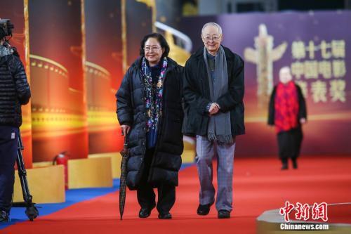 第17届中国电影华表奖红毯现场。来源:主办方供图