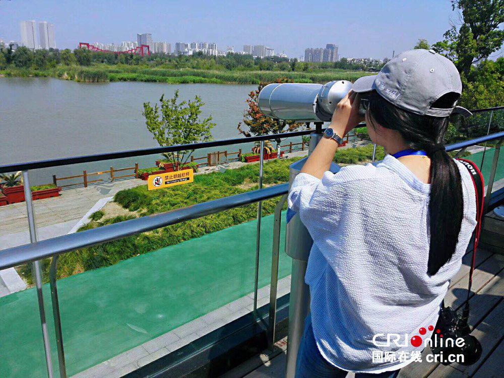 重庆时时彩9.7倍玩法:【美丽中国长江行】扬州积极打造公园+模式_让市民享受城市中的绿色