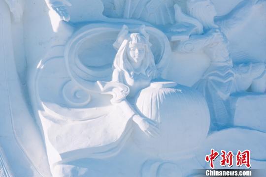 《王者荣耀》冰雪景观(冰雪大世界供图)