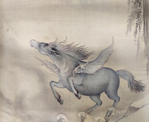 《给孩子的清宫兽谱》中的龙马。