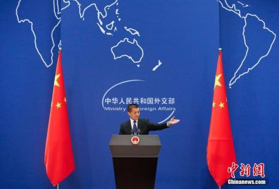 6月15日,中国外交部第29任发言人陆慷在北京正式亮相。<a target='_blank' href='http://www.chinanews.com/'>中新社</a>发 刘关关 摄