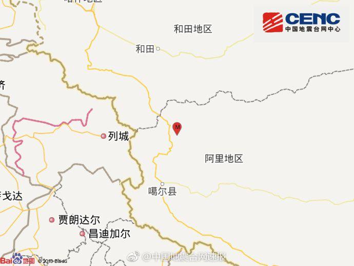 买彩票中大奖的技巧:西藏阿里地区日土县发生5.1级地震_震源深度6千米