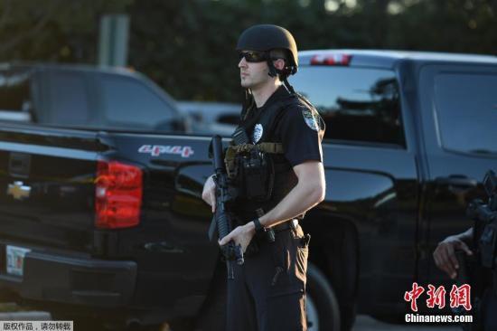 """警方认为这一枪击事件是一场""""大规模伤亡事故""""。"""