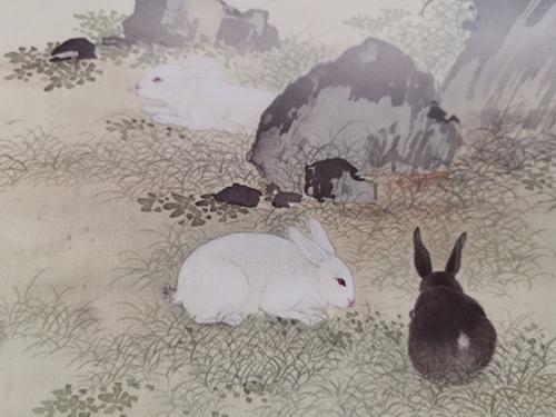 《给孩子的清宫兽谱》中的兔子。