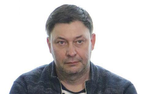 """资料图:""""俄新社乌克兰""""网站负责人维辛斯基。(图:美联)"""