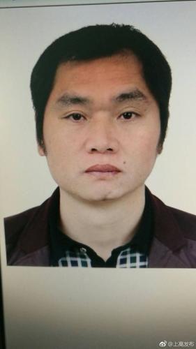 资料图:犯罪嫌疑人况玉林。图片来源:江西省宜春市上高县委宣传部官方微博