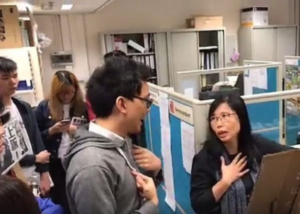 线上赌博平台网址:香港高校附近被喷抵制普通话口号_警方已列为刑案处理