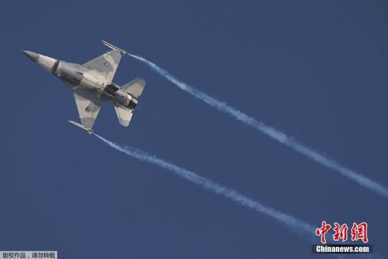 资料图:美国F-16战斗机。