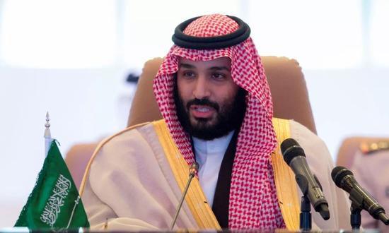 王储穆罕默德・本・萨勒曼↑
