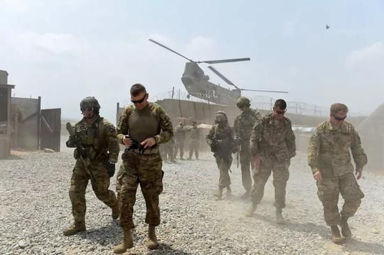 ▲美军在阿富汗执行任务资料图
