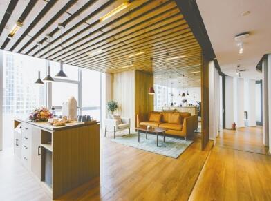 潘云和伙伴打造的共享工作空间,运用了建筑学和心理学理论,要让人们感到舒适和放松。