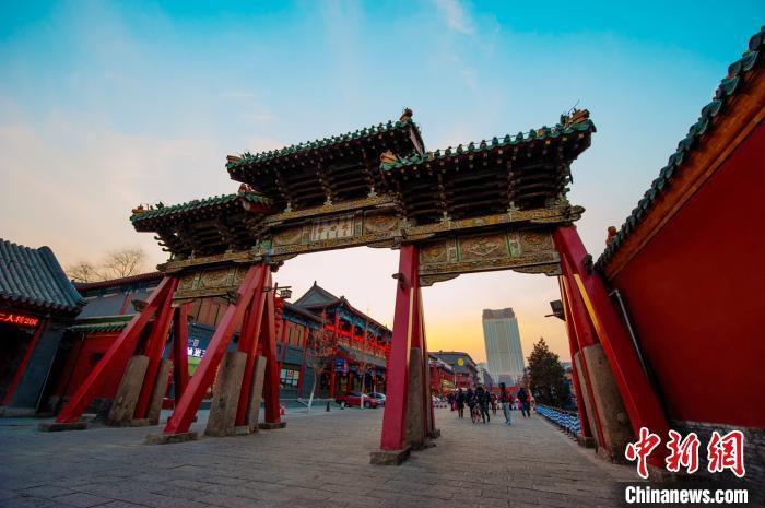 盛京皇城风貌(资料图)。沈河宣传部供图